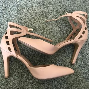 Blush/Nude Pointed Heels